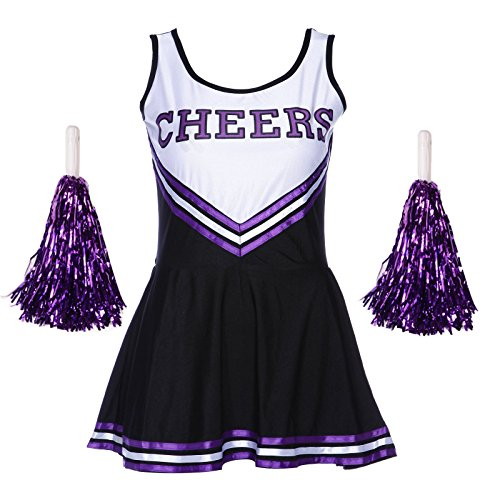 ladies-redstar-cheerleader-costume-outfit-with-pom-poms-fancy-dress-costume-sports-high-school-music