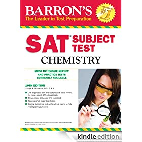 SAT Subject Test In Chemistry, 10th Ed. (Barron's SAT Subject Test Chemistry)