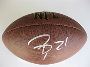 Patrick Peterson, Arizona Cardinals, LSU Tigers, Signed, Autographed, Nfl Football, a... by Wilson