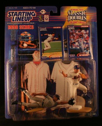 1998 MLB Starting Lineup Classic Doubles - Derek Jeter & Rey Ordonez