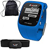 M400 Polar Best Deals - Polar 90057187KT- M400 GPS Training Companion with Heart Rate with Bag - Blue