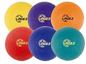 Champion Sports 8.5 Inch Playground Ball (Set of 6)