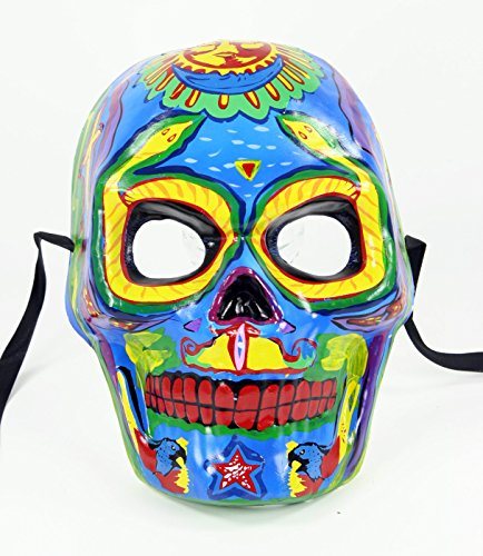 Bauer Men's Day of the Dead Dia de los Muertos Mask Multi Color