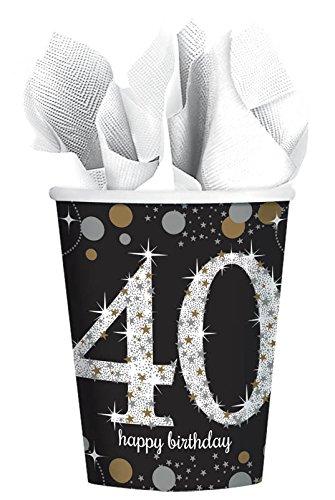 Sparkling Celebration 40 9oz Paper Cups