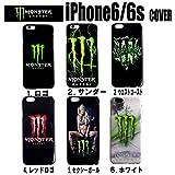 New*MONSTER ENERGY モンスターエナジー iPhone6/6s ケース 全5タイプ (4.レッドロゴ)