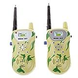2pcs Juguete de Camuflaje Walkie Talkie de Radio Control Plástico de dos Vías Luz Niños - Camuflaje Luz