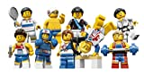 LEGO Collectable Minifigures: Complete Set of 9 (UK Exclusive) Minifigure (Olympic Team GB)