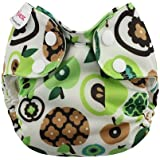 Blueberry Simplex Newborn AIO Diaper (Apples)
