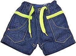 Little Kangaroos Baby Boys' Relaxed Shorts (HF36, Blue)
