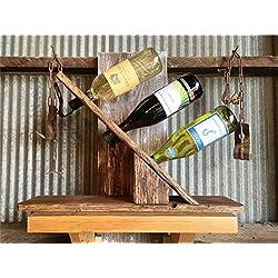 Countertop Wine Rack - 3 Bottle Display