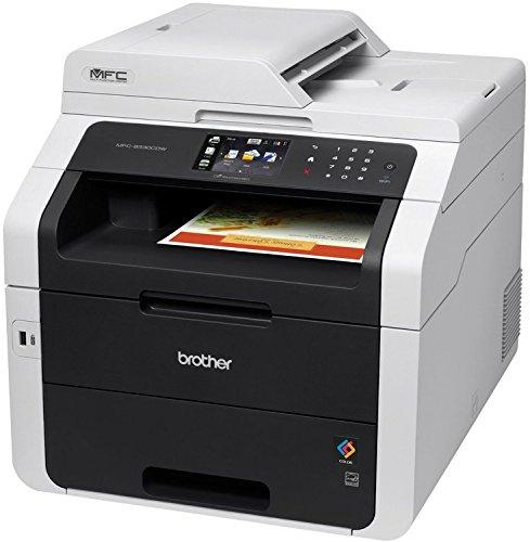 Brother MFC-9140CDN Stampante Multifunzione Laser a Colori, Funzione Stampa e Copia, Formato Stampa A4