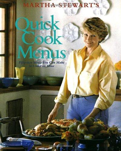 Martha Stewart'S Quick Cook Menus front-189548
