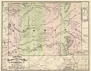 Amazon Old Railroad Maps  RAILROAD Amp TOWNSHIP MAP OF
