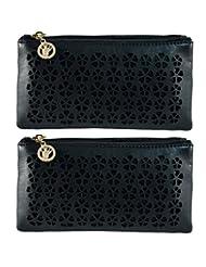 Fleur Wallet | Sling ( Combo Of 2 Slings ) By Heels & Handles (N1246)