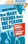 How Many Friends Does One Person Need...