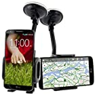 For LG G2 Optimus G2 [VacuuMount] Car Windshield Dash Mount Cradle Holder Kit By CellJoy