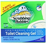 Scrubbing Bubbles Toilet Gel Fresh Clean (1 Dispenser & 2 Refill)