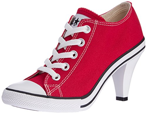 [コンバース] CONVERSE ALL STAR HEEL OX AS HEEL OX RED (レッド/4)