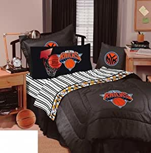 Buy New York Knicks Bedding NBA forter and Sheet Set