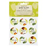 Kitchen Craft Self Adhesive Spice Labels, Pack of 45by KitchenCraft
