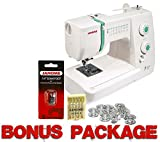 Janome Sewist 500 Sewing Machine With 5 Year Extended Warranty w/FREE BONUS PACKAGE