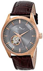 Lucien Piccard Men's LP-12530-RG-014-BR Sevilla Analog Display Chinese Automatic Brown Watch