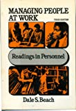 img - for Managing People at Work. book / textbook / text book