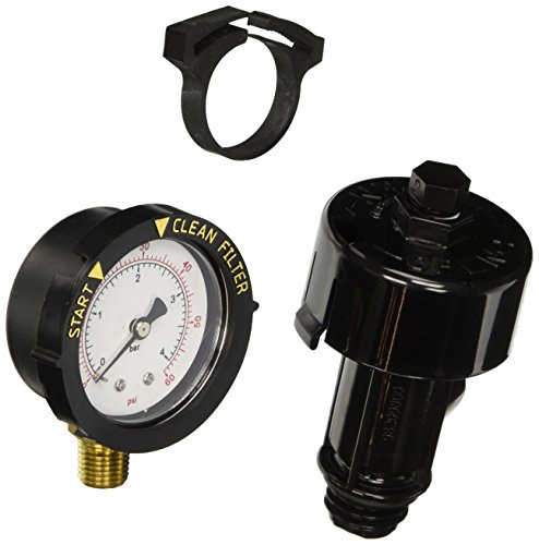 Pentair 98209800 High Flow Manual Relief Valve Replacement Pool and Spa Filter (De Filter Pressure Gauge compare prices)