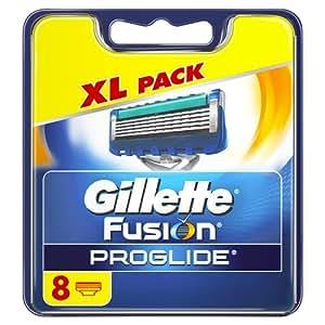 Gillette Fusion ProGlide Manual Razor Blades, 8 Blades