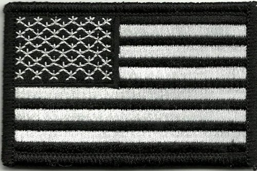 Review Tactical USA Flag Patch - Black & White by Gadsden and Culpeper