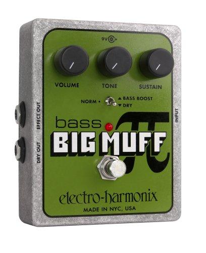Electro-Harmonix Bass Big Muff Distortion Pedal