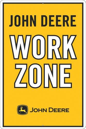 John Deere Work Zone Sign
