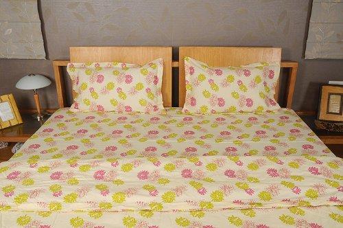 Imagen 4 de Inicio Diseño decorativo Victoria Bed Spread hoja de cama Set With One Quilt y fundas de almohada a juego