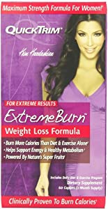Windmill Health Products QuickTrim Extreme Burn Sustained Release Weight Loss Formula, 60 Caplets from Windmill Health Products