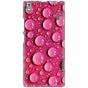 Printland Back Cover For Lenovo K3 Note PA1F0001IN - Water drop Designer Cases