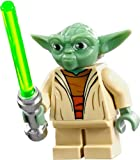 LEGO Star Wars Clone Wars Minifigure - Yoda with Lightsaber