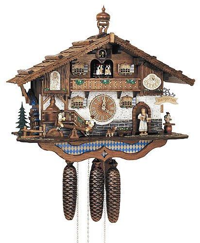 Schneider Black Forest 17 Inch Cuckoo Clock