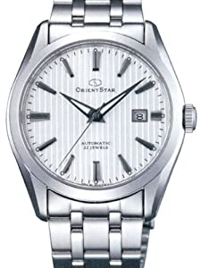 Orient Star Standard-Date Automatic Watch with Sapphire Crystal and SAR Coating DV02003W