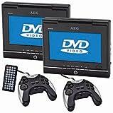 """echange, troc AEG - DVD 4533 - Lecteur DVD portable - Double écran TFT 7"""" avec Manette - Kit de voiture"""