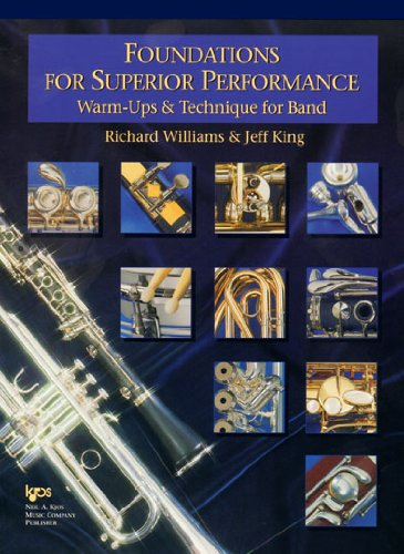 Foundations for Superior Performance: Warm-Ups and Technique for Band - Conductor Score
