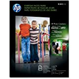 HP Everyday Photo Paper, Matte (100 Sheets, 8.5 x 11 Inches)