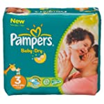 Pampers - Baby Dry - Couches Taille 3...