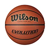 Wilson Evolution Indoor Game Basketball, Official - Size 7