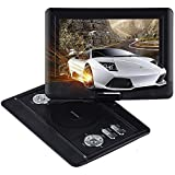 DBPOWER 10.5-Inch Portable DVD Player - Black