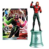 DC Superhero Guy Gardner White Bishop Chess Piece with Collector Magazine by Guy Gardner