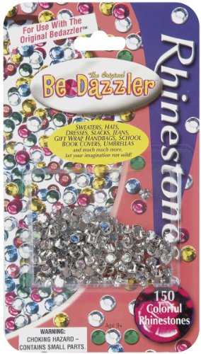 Why Choose Be Dazzler Rhinestone Refill 150/Pkg-Assorted Colors