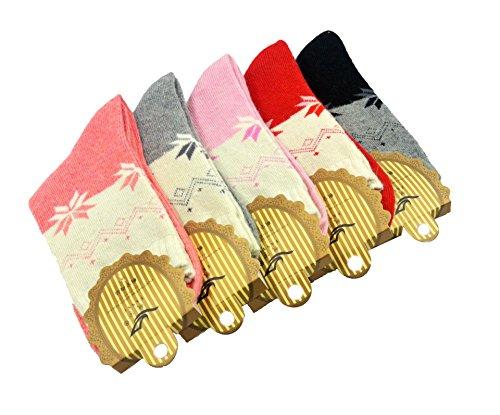 5-paires-flocon-de-neige-feuille-derable-verdickt-coton-chaussettes-pour-les-femmes-femme-girl-keep-