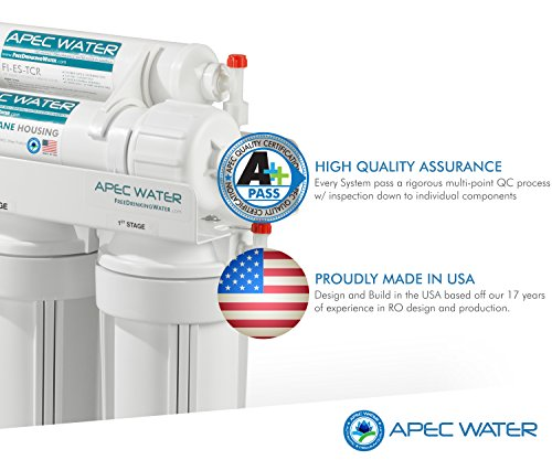 APEC Water Systems ROES-50 50 GPD Essence Reverse Osmosis Drinking Water Filter System