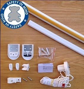 DIY Roller blind kit UPGRADED with Metal Brackets - Create ...