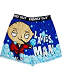 Briefly Stated Men's Family Guy Boxer, Multi, Small